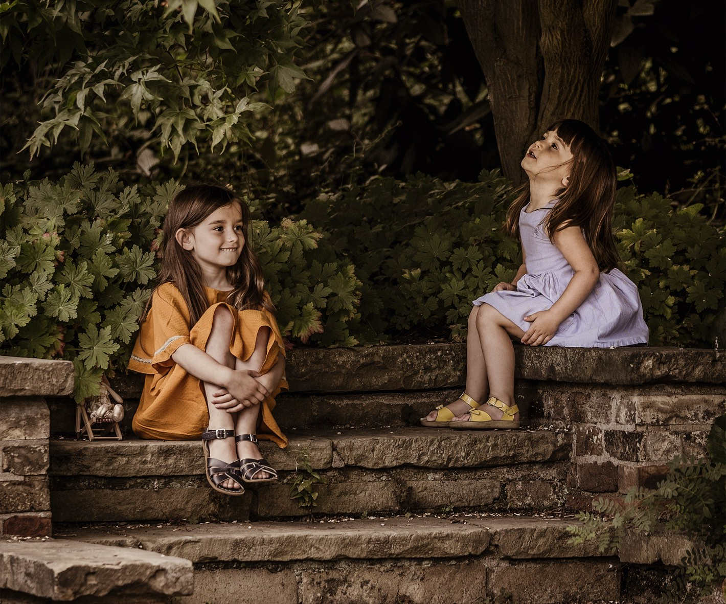Image from a Children of London photoshoot